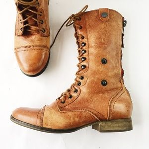 Steve Madden Combat Boots Southwestern Lining 9
